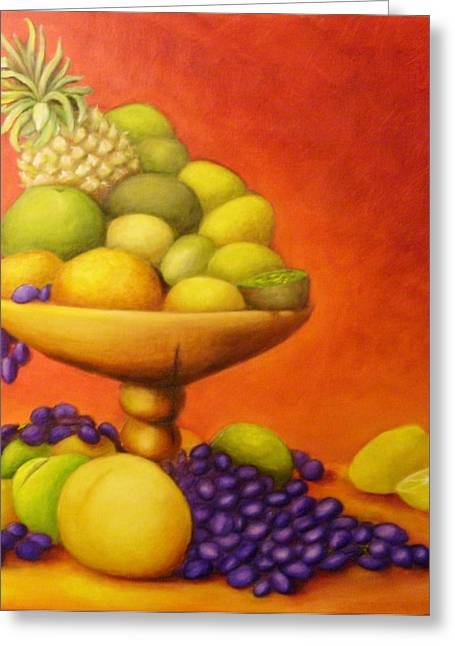 Fruitpassion Greeting Card