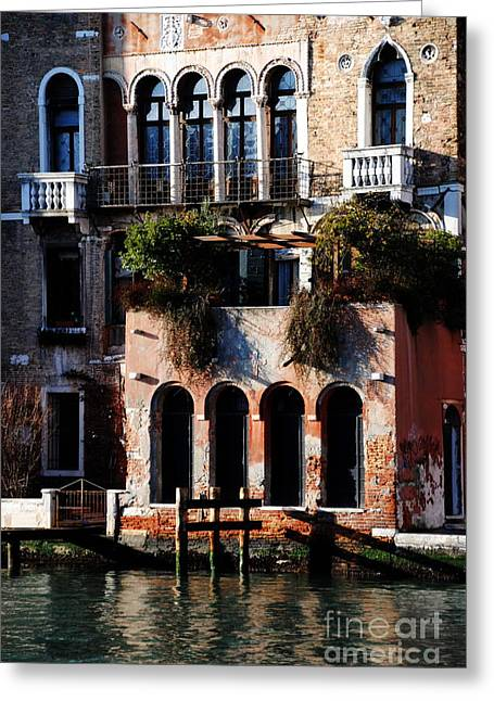 Great Digs In Rialto Greeting Card by Jacqueline M Lewis