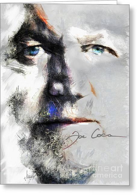 Joe Cocker - Hymn For My Soul     Greeting Card