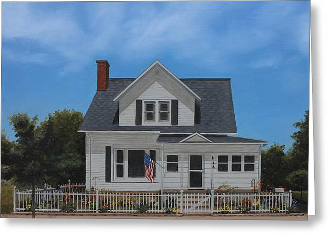 Kenroy Cottage Greeting Card by Cecilia Brendel