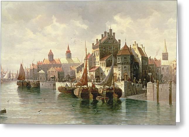 Kieler Canal Greeting Card