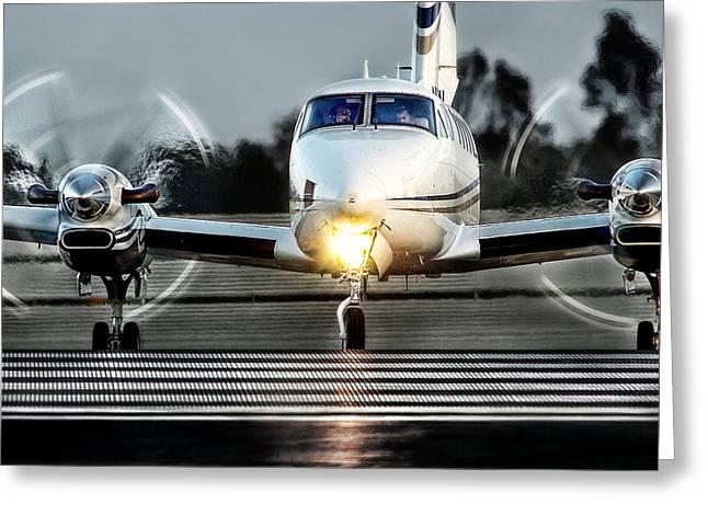 King Air  Greeting Card