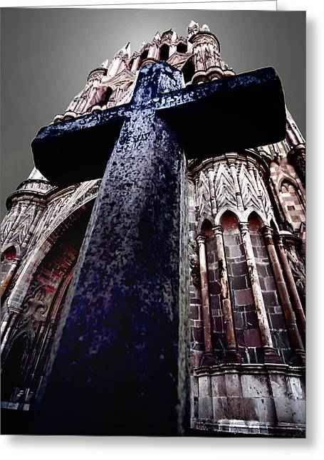 La Parroquia Cross Greeting Card