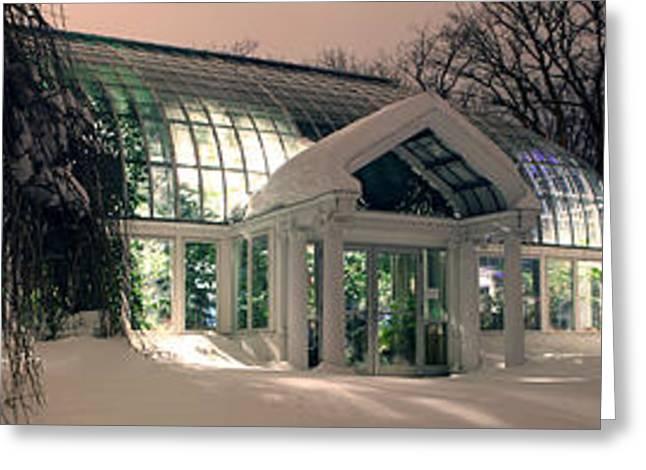Lamberton Conservatory Greeting Card by Richard Engelbrecht