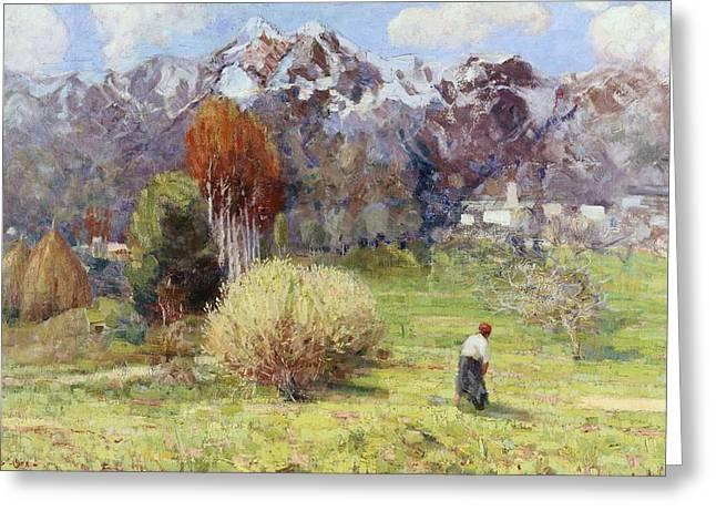 Landscape Greeting Card by Dario Bardinero