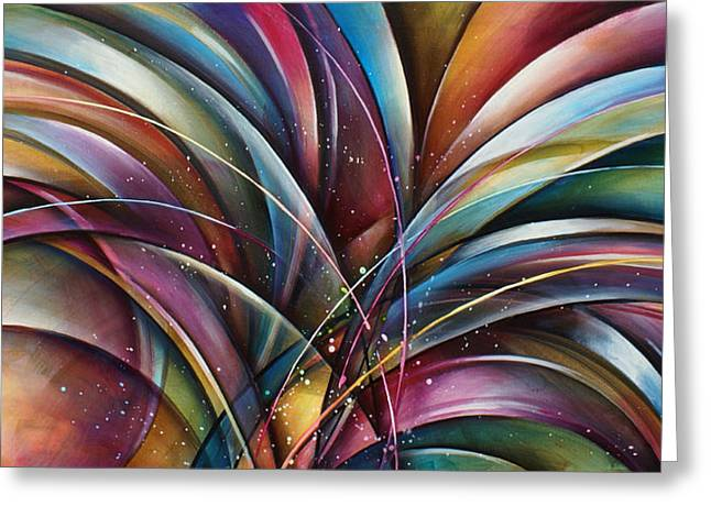 ' Lilys Song 2' Greeting Card by Michael Lang
