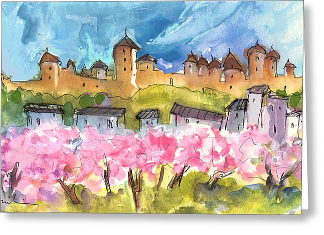 Memory Of Carcassonne Greeting Card