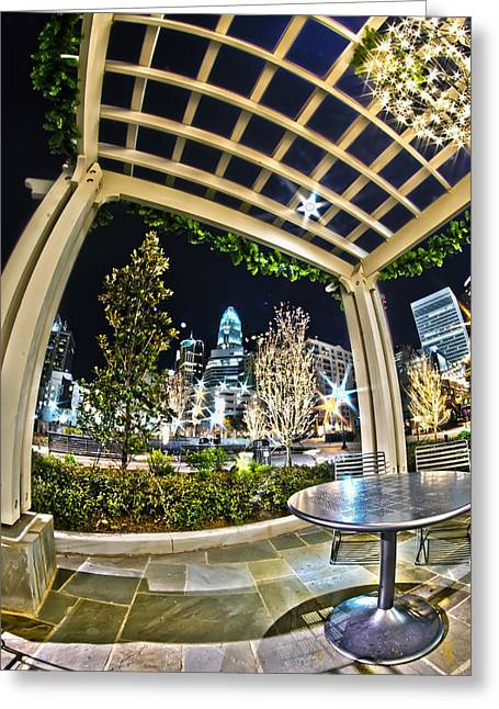 Nightlife Around Charlotte Greeting Card
