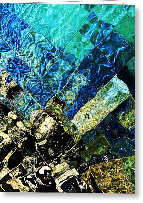 Ocean Art Greeting Card