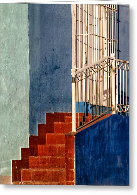 Red Steps Greeting Card
