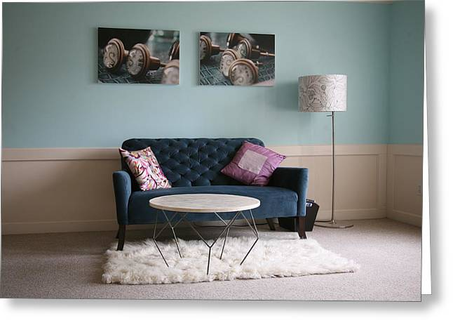 Greeting Card featuring the photograph  Retro Modern ..... by Lynn England