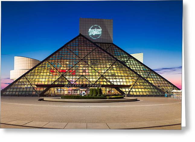 Rock And Roll Hall Of Fame And Museum Greeting Card
