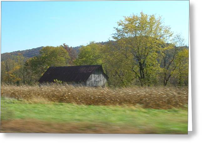 Rural Highway   Greeting Card by Dina  Stillwell