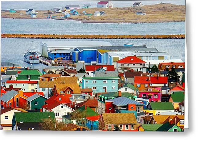 Saint Pierre Et Miquelon Greeting Card