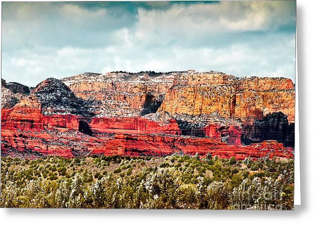 Secret Mountain Wilderness Sedona Arizona Greeting Card