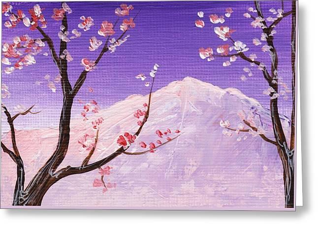 Spring Will Come Greeting Card by Anastasiya Malakhova