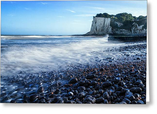 St Margarets Bay Greeting Card by Ian Hufton