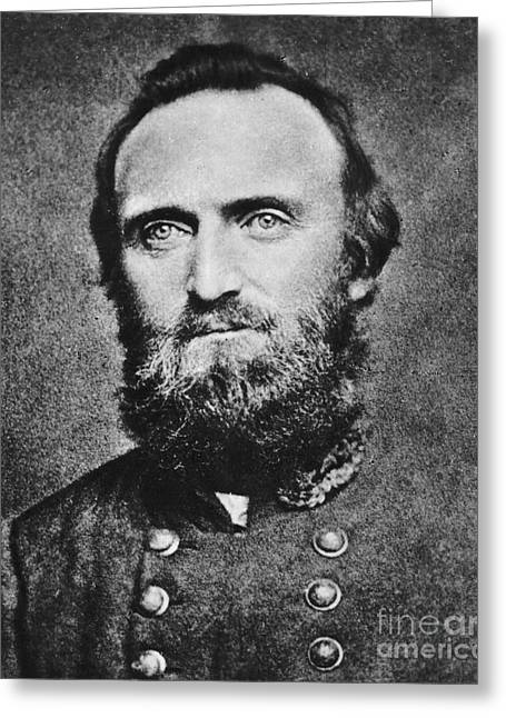Stonewall Jackson Greeting Card