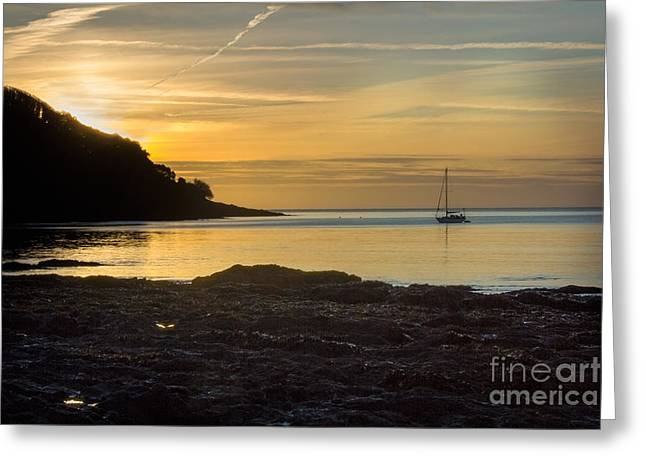 Sunrise Pendennis Point Greeting Card