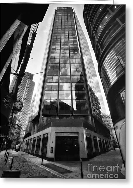 The Exchange Tower - London - England Greeting Card by Natalie Kinnear