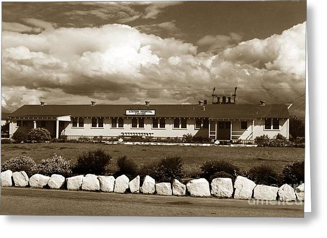 The Fort Ord Station Hospital Administration Building T-3010 Building Fort Ord Army Base Circa 1950 Greeting Card