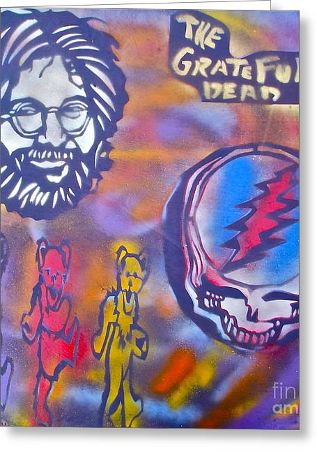 The Grateful Dead Greeting Card by Tony B Conscious