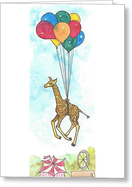 The Great Escape Greeting Card by Terry Fleckney