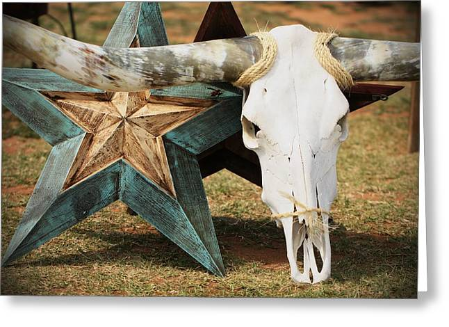 The Heart Of Texas Greeting Card