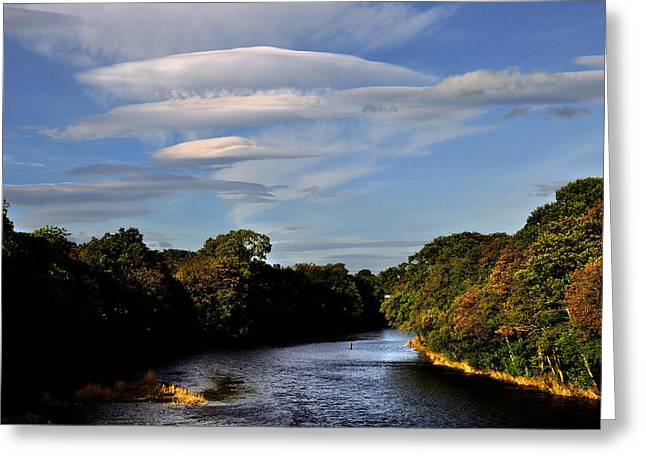 The River Beauly Greeting Card
