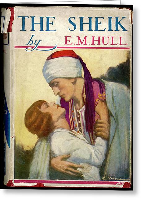 'the Sheik'  By E M Hull       Date Greeting Card by Mary Evans Picture Library