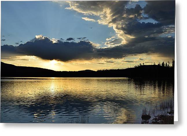 Unnamed Sunrise  I Greeting Card by Rich Rauenzahn