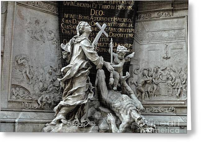Vienna Austria - Plague Monument Greeting Card