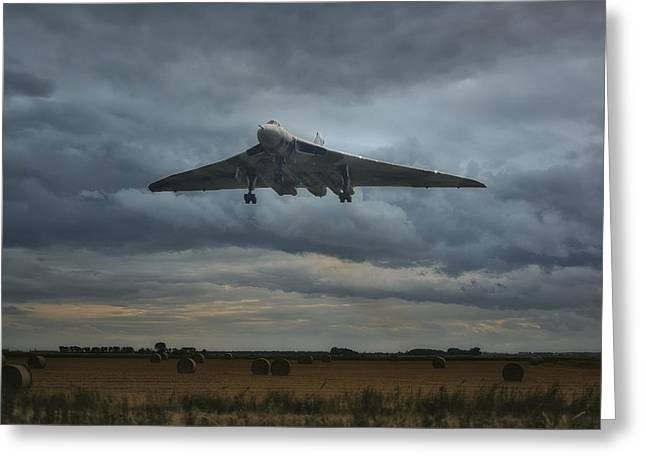 Vulcan Bomber Greeting Card