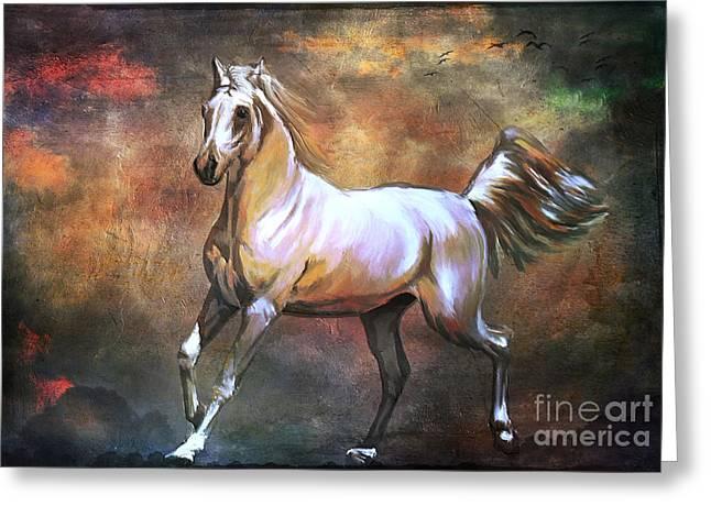 Wild Horse. Greeting Card