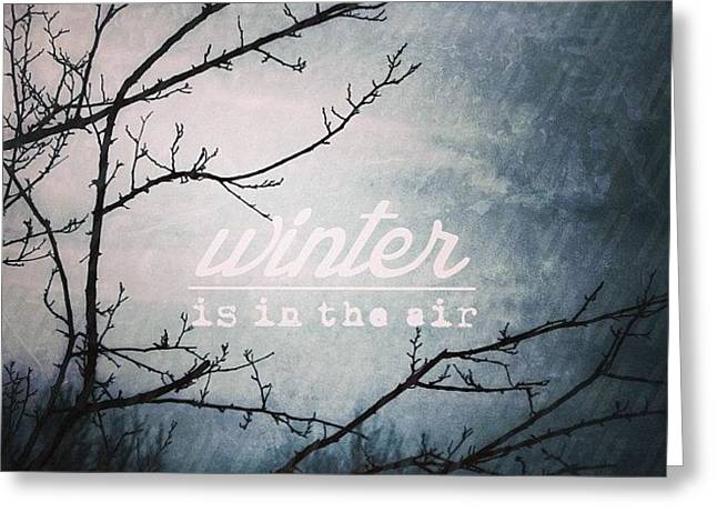 || Winter || ________________  I Greeting Card