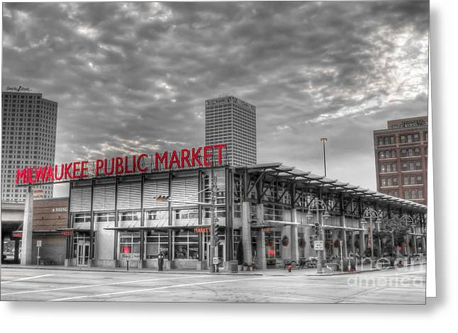 0038 Milwaukee Public Market Greeting Card