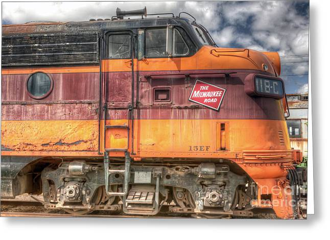 0119 The Milwaukee Road 2 Greeting Card