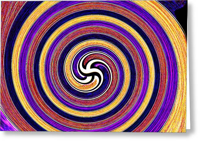 0175 Abstract Thought Greeting Card by Chowdary V Arikatla