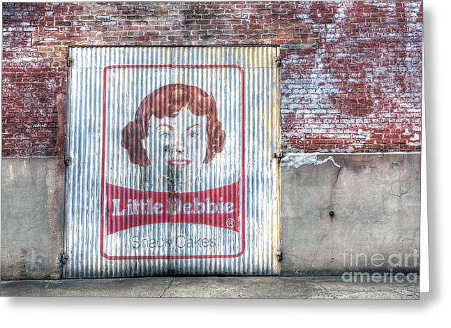 0256 Little Debbie - New Orleans Greeting Card