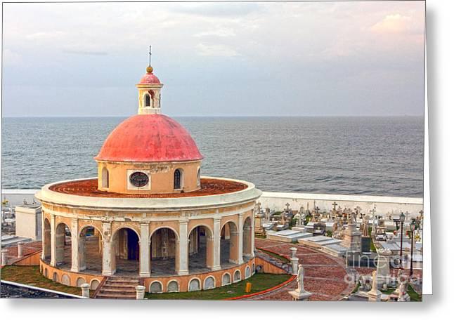 0280 Old San Juan Greeting Card by Steve Sturgill
