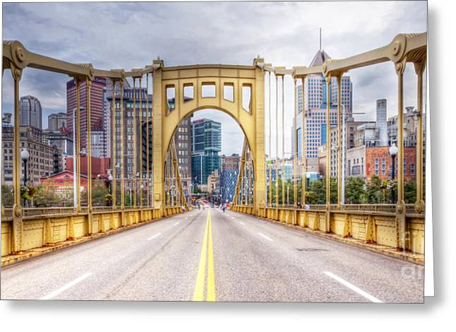 0305  Pittsburgh 10 Greeting Card by Steve Sturgill