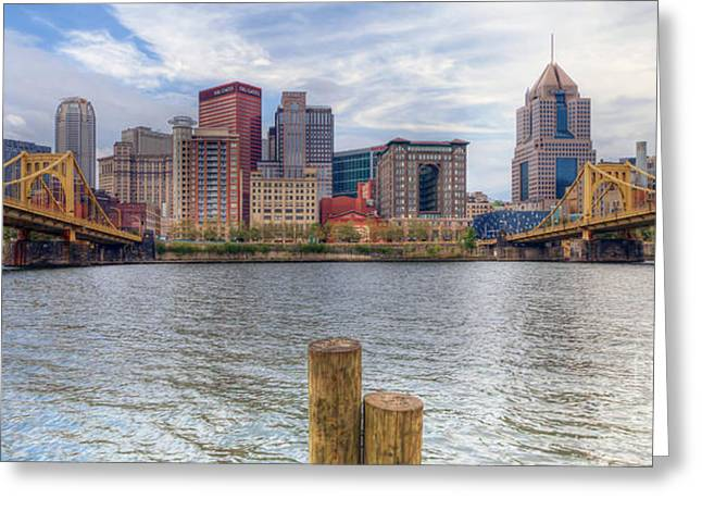 0311 Pittsburgh 1 Greeting Card by Steve Sturgill