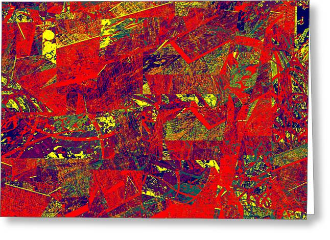 0384 Abstract Thought Greeting Card