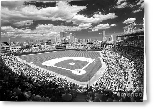 0416 Wrigley Field Chicago Greeting Card