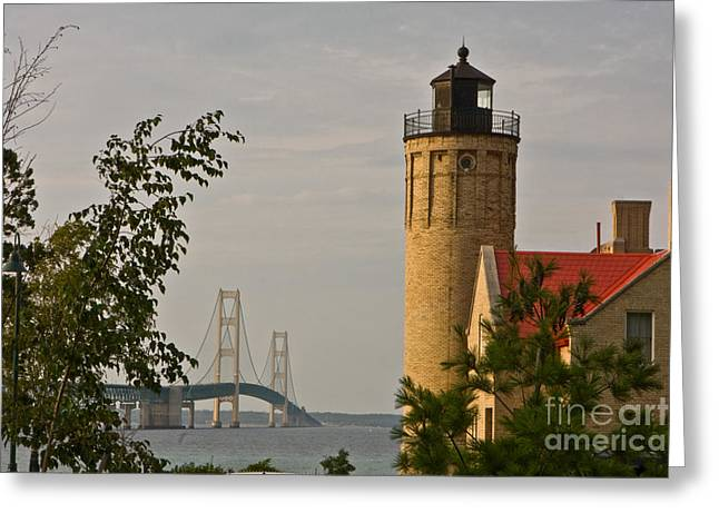 0558 Old Mackinac Point Lighthouse Greeting Card