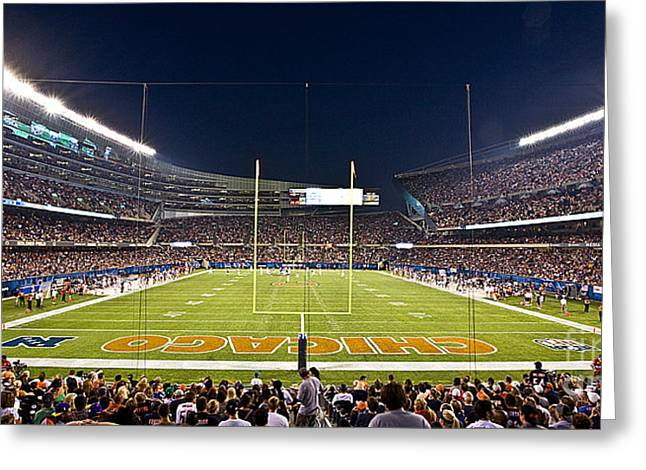 0587 Soldier Field Chicago Greeting Card
