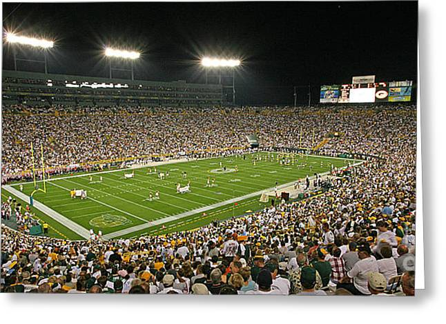 0609 Lambeau Field Greeting Card