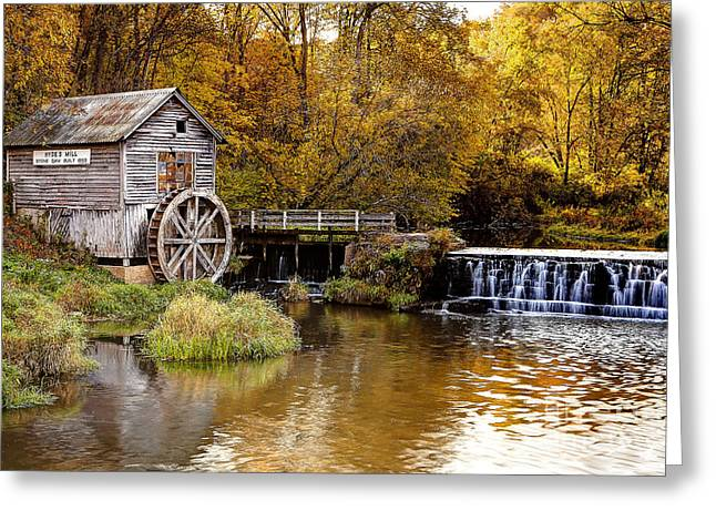 0722 Hyde's Mill Greeting Card