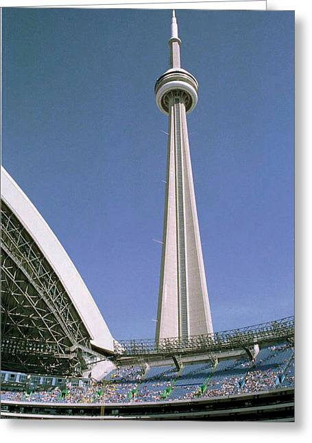 09.skydome.hm Greeting Card