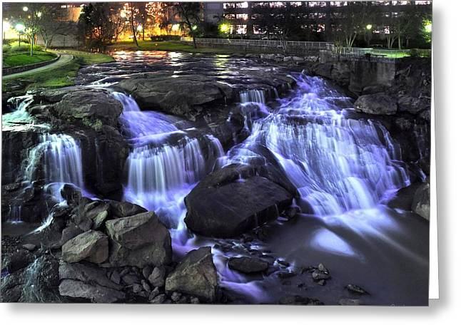 Reedy River Falls Greeting Card